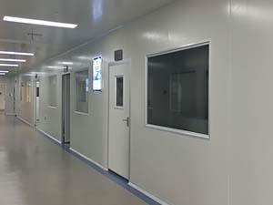 净化系统P3实验室建设设计